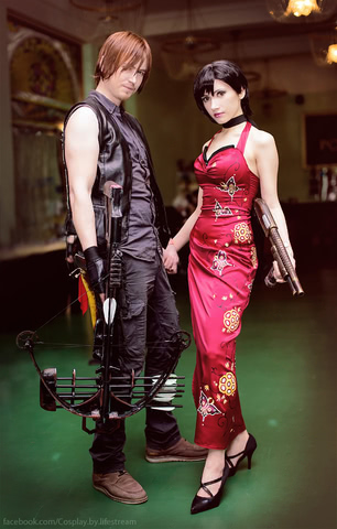 Ada Wong by Narga-Lifestream (Resident Evil 4) cosplay 4