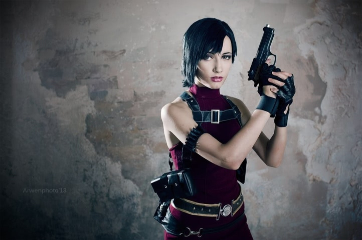 Ada Wong by Narga-Lifestream (Resident Evil 4) cosplay 6