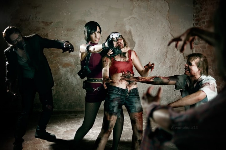Ada Wong by Narga-Lifestream (Resident Evil 4) cosplay 9