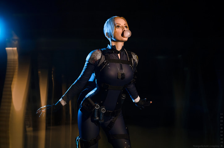 Cassie Cage by Narga-Lifestream (Mortal Kombat X) cosplay 2