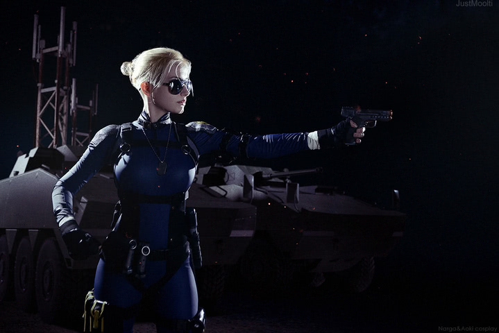 Cassie Cage by Narga-Lifestream (Mortal Kombat X) cosplay 3