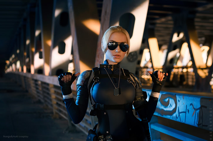 Cassie Cage by Narga-Lifestream (Mortal Kombat X) cosplay 7