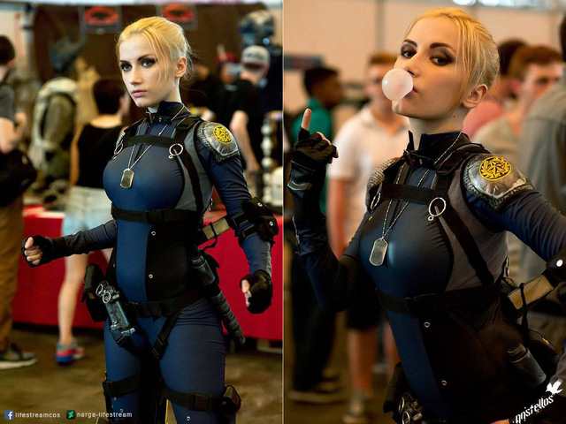 Cassie Cage by Narga-Lifestream (Mortal Kombat X) cosplay 8