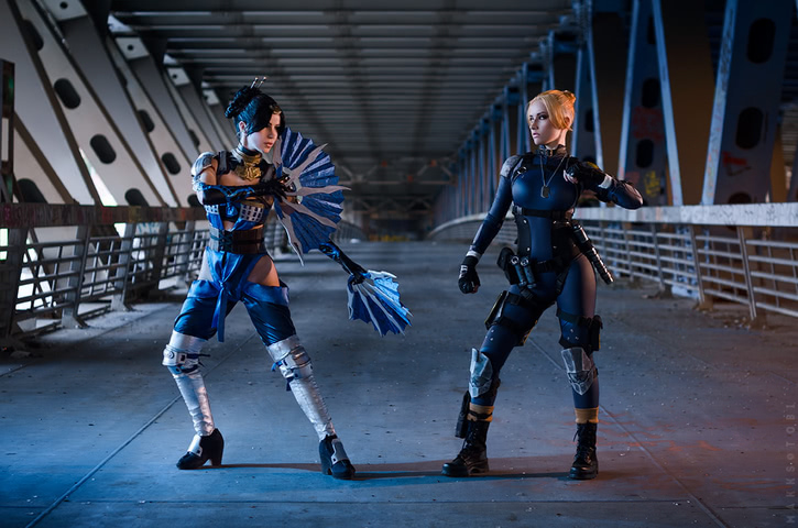 Cassie Cage by Narga-Lifestream (Mortal Kombat X) cosplay 9