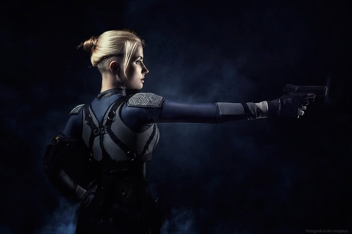 Cassie Cage by Narga-Lifestream (Mortal Kombat X) cosplay 11