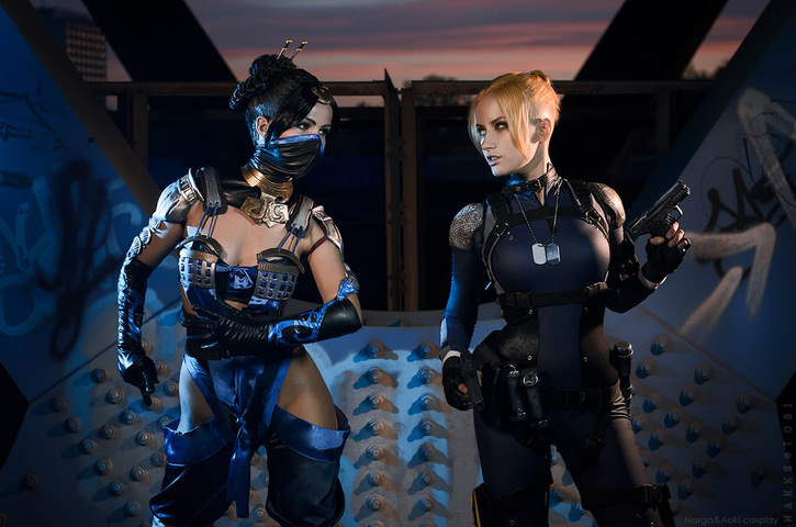 Cassie Cage by Narga-Lifestream (Mortal Kombat X) cosplay 14