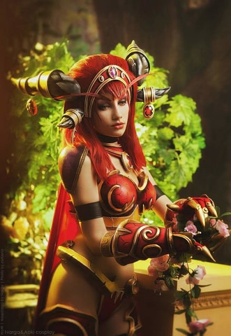 Alexstrasza by Narga-Lifestream (World of Warcraft) cosplay 1