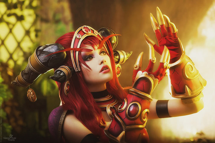 Alexstrasza by Narga-Lifestream (World of Warcraft) cosplay 4