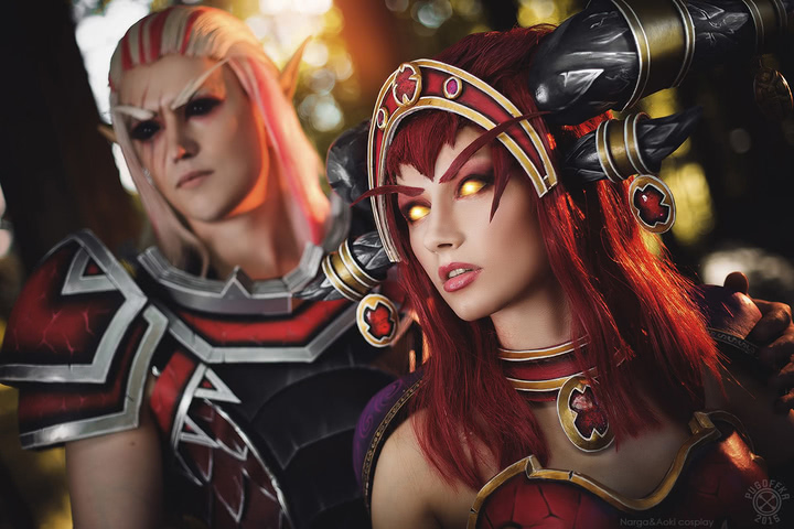 Alexstrasza by Narga-Lifestream (World of Warcraft) cosplay 6