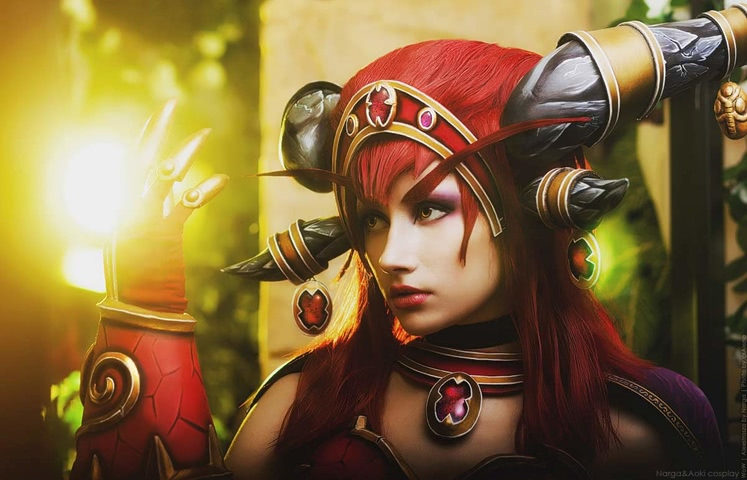 Alexstrasza by Narga-Lifestream (World of Warcraft) cosplay 8