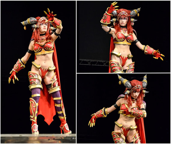 Alexstrasza by Narga-Lifestream (World of Warcraft) cosplay 9