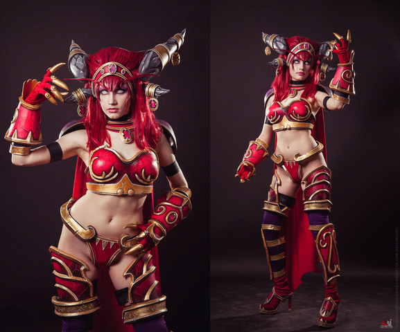 Alexstrasza by Narga-Lifestream (World of Warcraft) cosplay 10