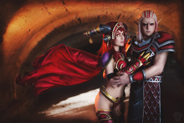 Alexstrasza by Narga-Lifestream (World of Warcraft) cosplay 16