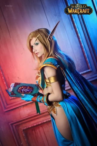 Blood Elf mage by Narga-Lifestream (World of Warcraft) cosplay 1