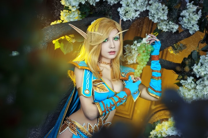 Blood Elf mage by Narga-Lifestream (World of Warcraft) cosplay 2