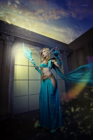 Blood Elf mage by Narga-Lifestream (World of Warcraft) cosplay 3