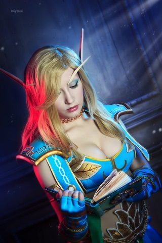 Blood Elf mage by Narga-Lifestream (World of Warcraft) cosplay 4