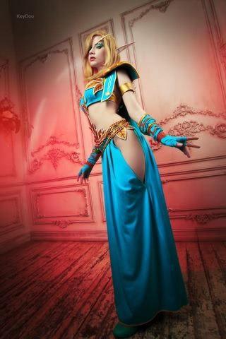 Blood Elf mage by Narga-Lifestream (World of Warcraft) cosplay 5