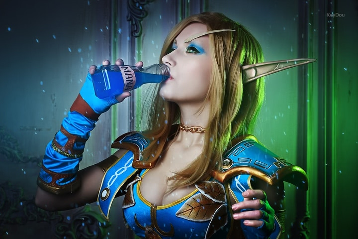Blood Elf mage by Narga-Lifestream (World of Warcraft) cosplay 6