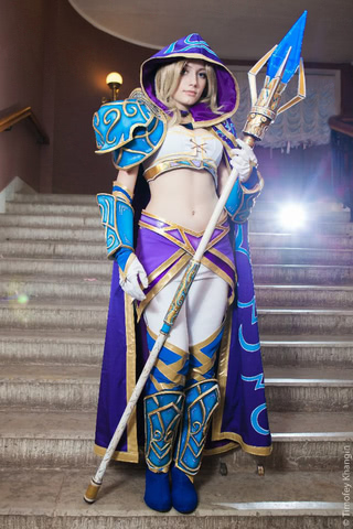 Jaina Proudmoore by Narga-Lifestream (Hearthstone Heroes of Warcraft) cosplay 1