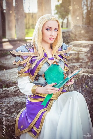 Jaina Proudmoore by Narga-Lifestream (Hearthstone Heroes of Warcraft) cosplay 5