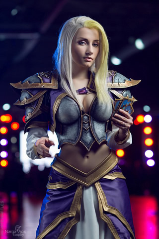 Jaina Proudmoore by Narga-Lifestream (Hearthstone Heroes of Warcraft) cosplay 9