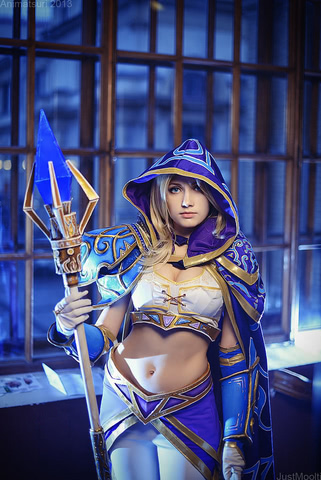 Jaina Proudmoore by Narga-Lifestream (Hearthstone Heroes of Warcraft) cosplay 10