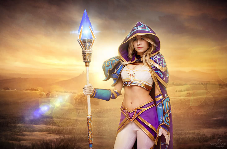 Jaina Proudmoore by Narga-Lifestream (Hearthstone Heroes of Warcraft) cosplay 14