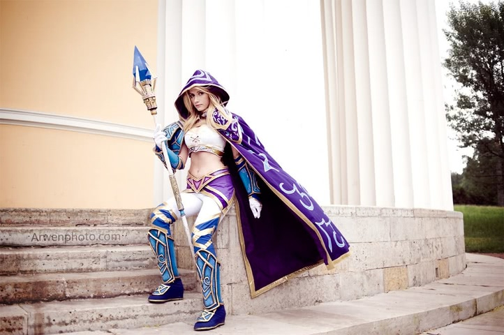 Jaina Proudmoore by Narga-Lifestream (Hearthstone Heroes of Warcraft) cosplay 15