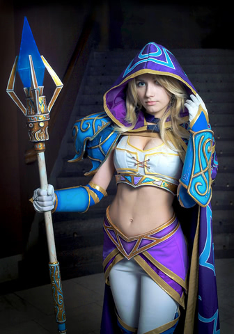 Jaina Proudmoore by Narga-Lifestream (Hearthstone Heroes of Warcraft) cosplay 16