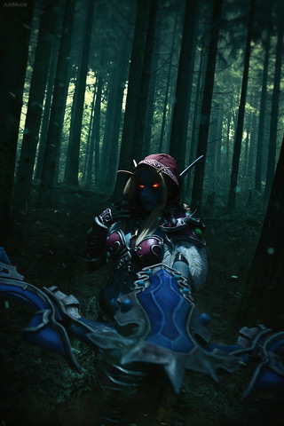 Sylvanas Windrunner by Narga-Lifestream (World of Warcraft) cosplay 5