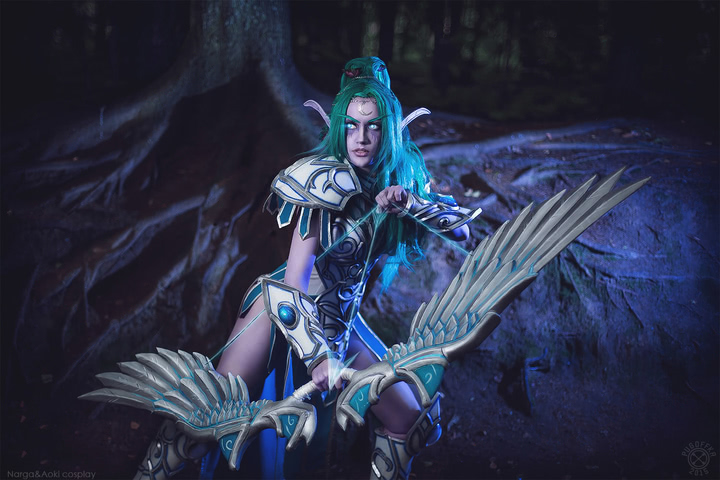Tyrande Whisperwind by Narga-Lifestream (Heroes of the Storm) cosplay 1