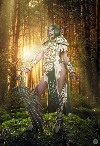 Tyrande Whisperwind by Narga-Lifestream (Heroes of the Storm) cosplay 2