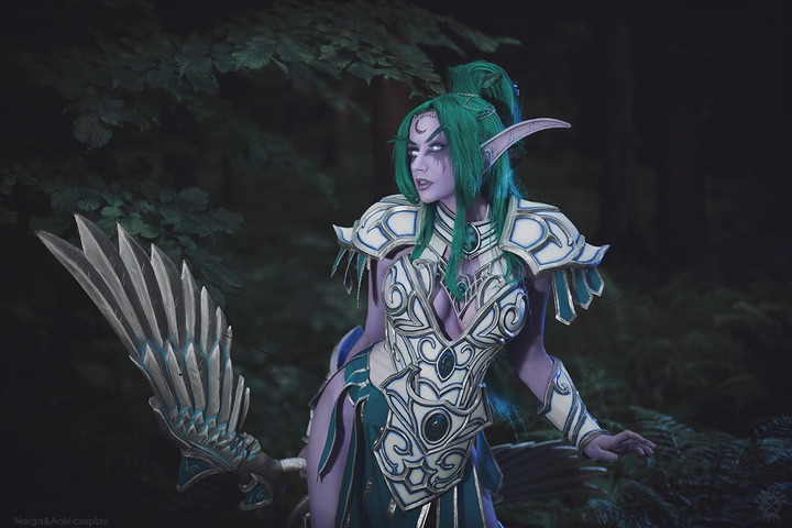 Tyrande Whisperwind by Narga-Lifestream (Heroes of the Storm) cosplay 4