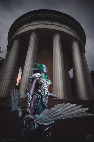 Tyrande Whisperwind by Narga-Lifestream (Heroes of the Storm) cosplay 5