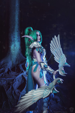 Tyrande Whisperwind by Narga-Lifestream (Heroes of the Storm) cosplay 6