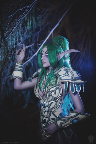 Tyrande Whisperwind by Narga-Lifestream (Heroes of the Storm) cosplay 7