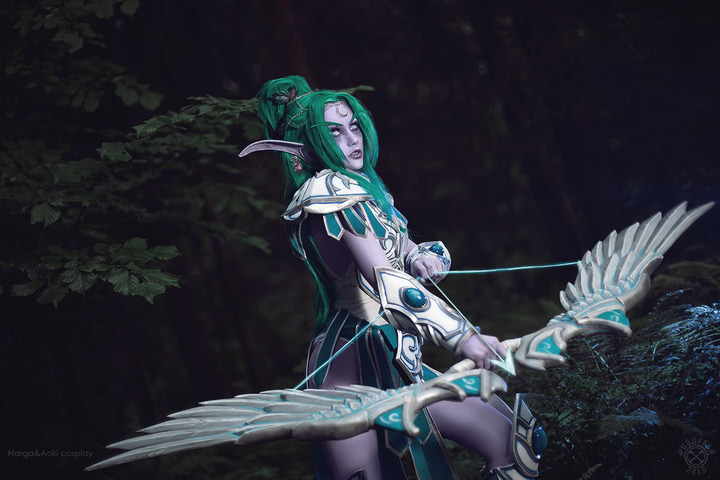 Tyrande Whisperwind by Narga-Lifestream (Heroes of the Storm) cosplay 8