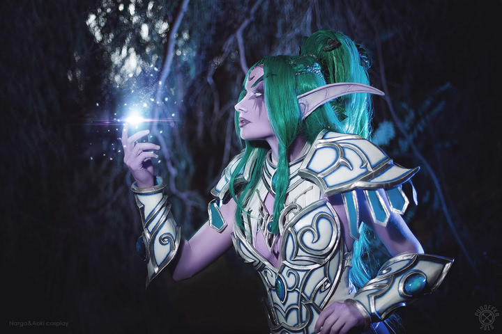 Tyrande Whisperwind by Narga-Lifestream (Heroes of the Storm) cosplay 9