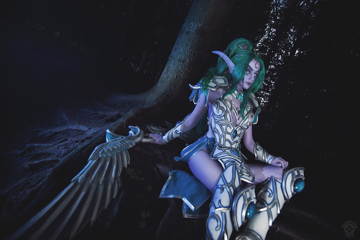 Tyrande Whisperwind by Narga-Lifestream (Heroes of the Storm) cosplay 10