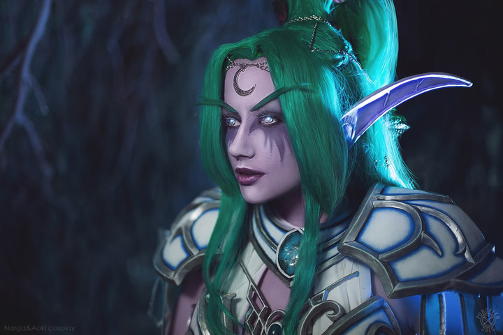 Tyrande Whisperwind by Narga-Lifestream (Heroes of the Storm) cosplay 11