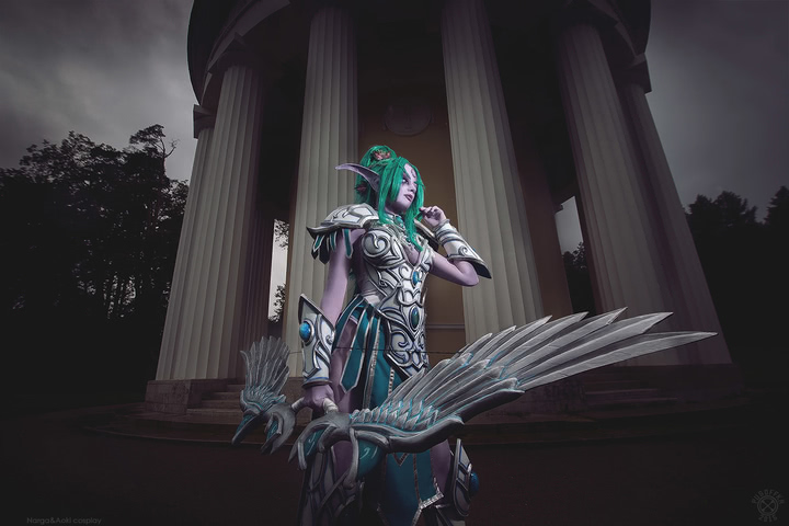 Tyrande Whisperwind by Narga-Lifestream (Heroes of the Storm) cosplay 12