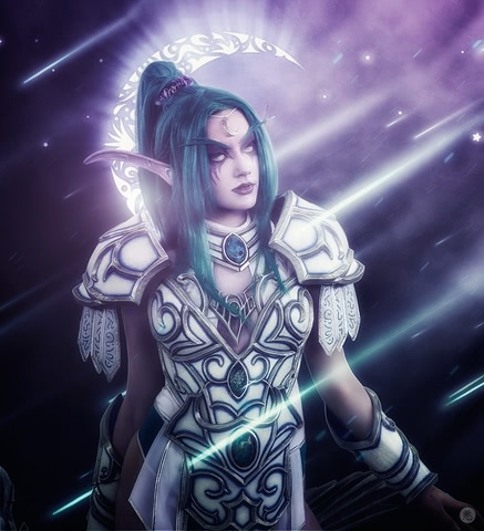 Tyrande Whisperwind by Narga-Lifestream (Heroes of the Storm) cosplay 13
