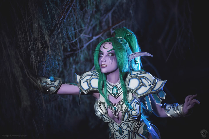 Tyrande Whisperwind by Narga-Lifestream (Heroes of the Storm) cosplay 14