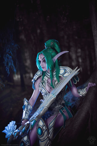 Tyrande Whisperwind by Narga-Lifestream (Heroes of the Storm) cosplay 15