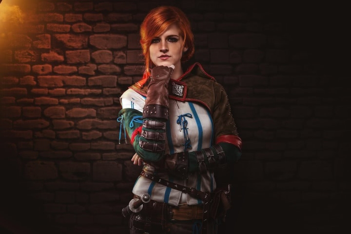 Triss by MadameSkunk (Witcher 3) cosplay 1