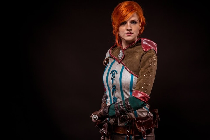 Triss by MadameSkunk (Witcher 3) cosplay 4