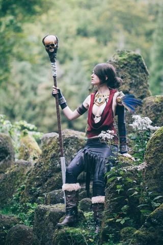 Morrigan by MadameSkunk (Dragon Age Inquisition) cosplay 1