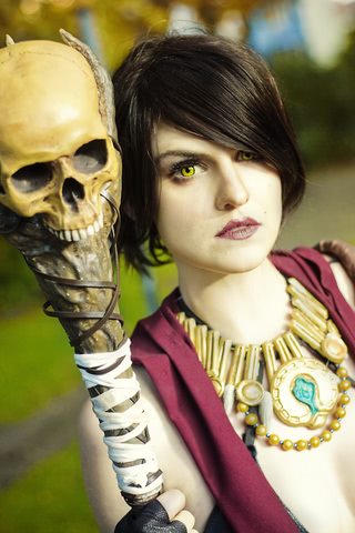 Morrigan by MadameSkunk (Dragon Age Inquisition) cosplay 4