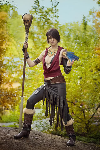 Morrigan by MadameSkunk (Dragon Age Inquisition) cosplay 5